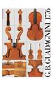 Print, 'Lechmann Schwechter' G.B. Guadagnini Violin, 1776