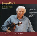 CD: Emanuel Vardi, In Memoriam
