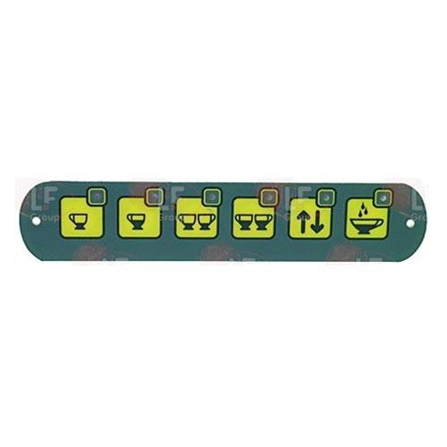 Push-Button Panel 6 Buttons FIORENZATO A1500034
