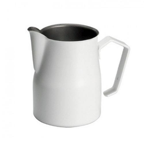 Motta Europa 500ml Milk Steaming Jug / Pitcher White