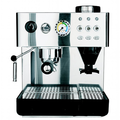 La Pavoni Domus Bar Espresso Machine with built-in Burr Grinder