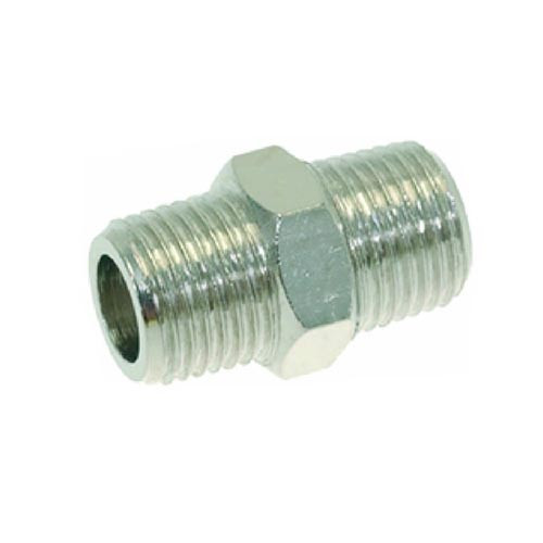 Fitting 1/8M - 1/8M Brass/Nickel