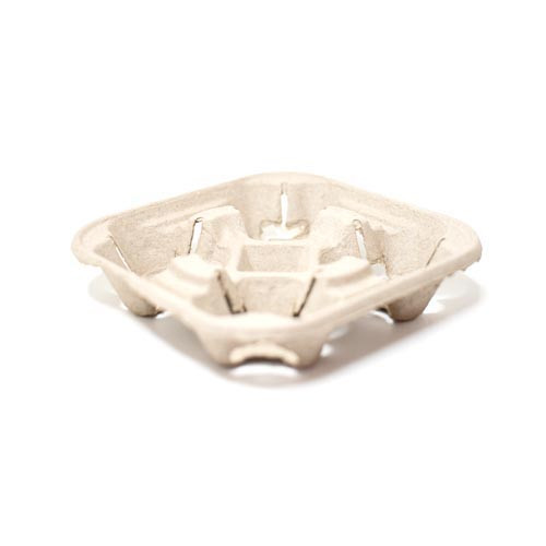 Carry tray for 4 Takeaway Coffee Cups - 50x