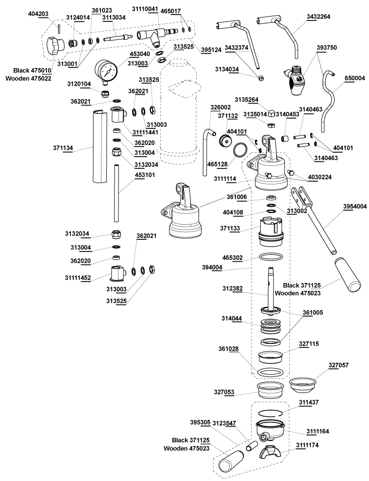 Parts Espresso Coffee Machine Parts Pavoni