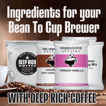 Bean To Cup Ingredient Kit With 100% Arabica Deep Rich Coffee