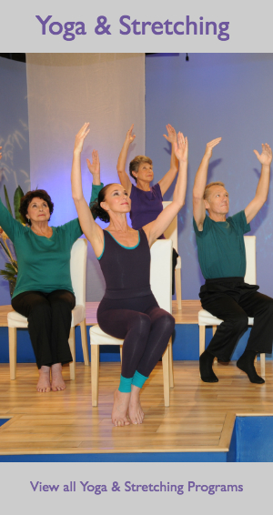 Stretching, Flexibility, and Relaxation Chair Workout - Chair Dancing® International Inc.