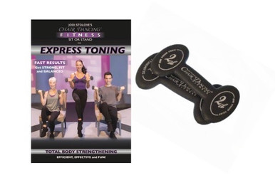 Express Toning DVD with 2 lb. Slim Bells