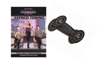 Express Toning DVD with 2 lb. Slim Bells
