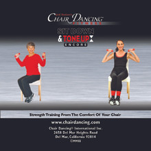 Chair Dancing® Fitness presents Sit Down & Tone Up Encore! on Custom Audio CD