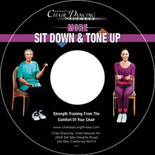More...Sit Down & Tone Up on Custom Audio CD