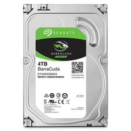 "Seagate BarraCuda 4TB ST4000DM004 3.5"" 7200RPM 256MB Cache Internal Hard Drive"