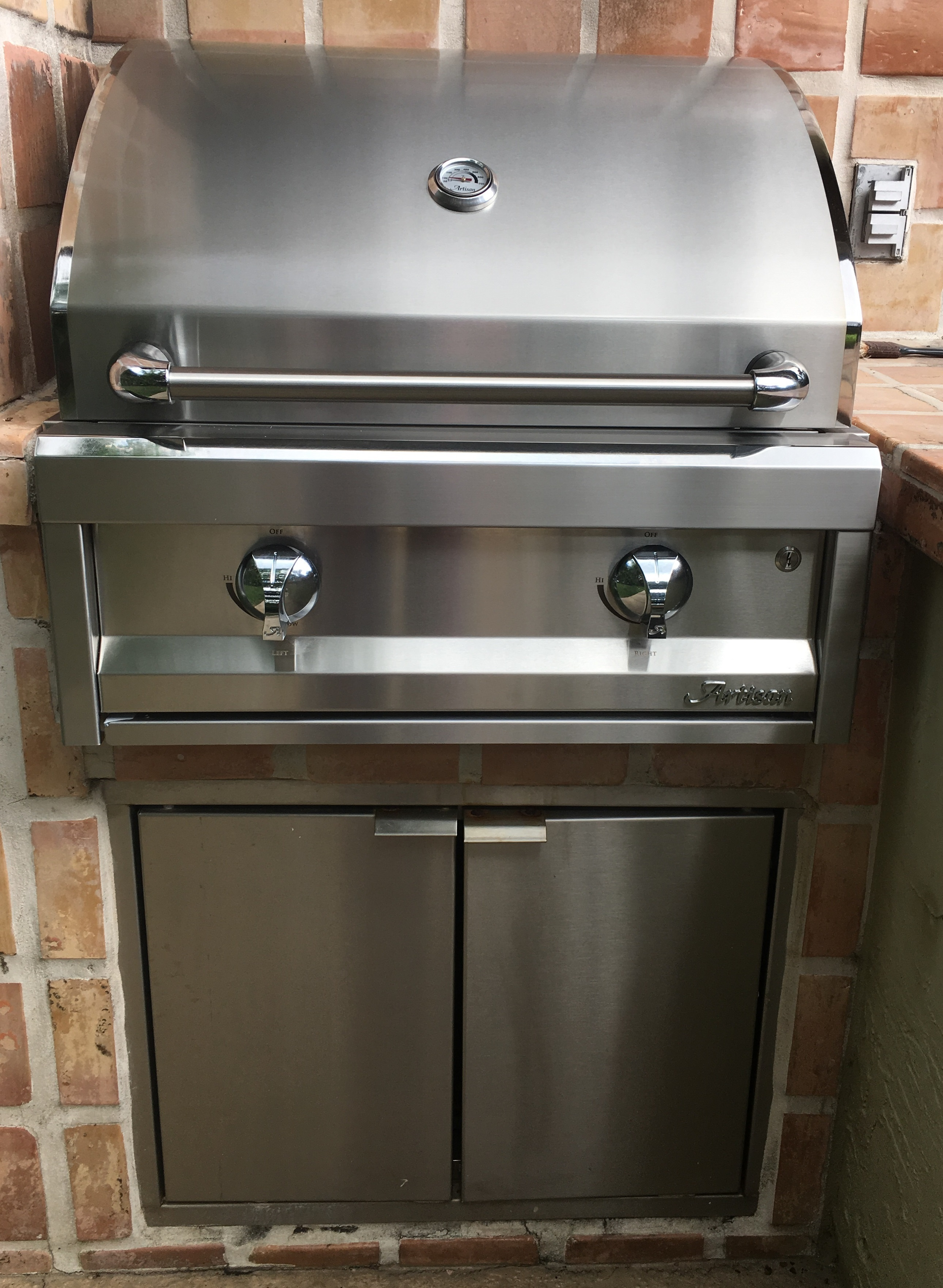 Replacing Your Dcs 27 Built In Grill With An Alfresco Artisan 26