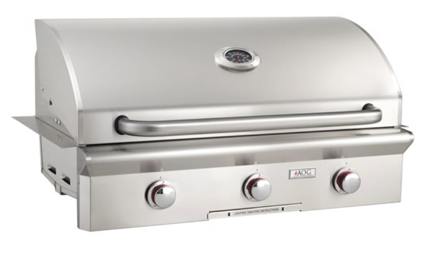 """AOG 36"""" Built-in Grill without Rotisserie"""