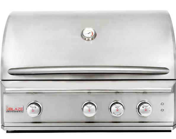 "Blaze Professional 3 Burner 34"" Built-in Grill"