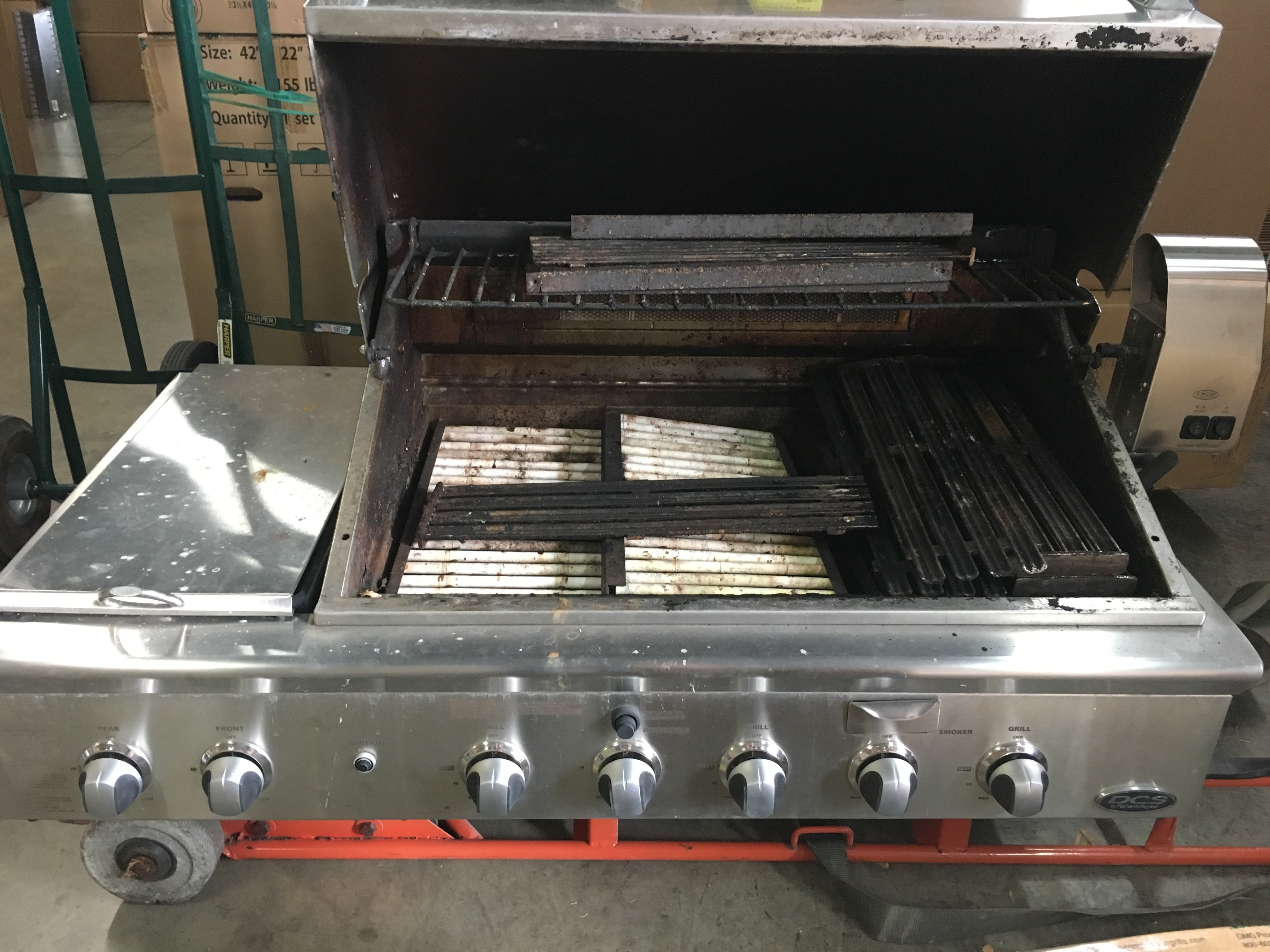 Cleaning And Replacing Burners Ceramic Rod Trays And