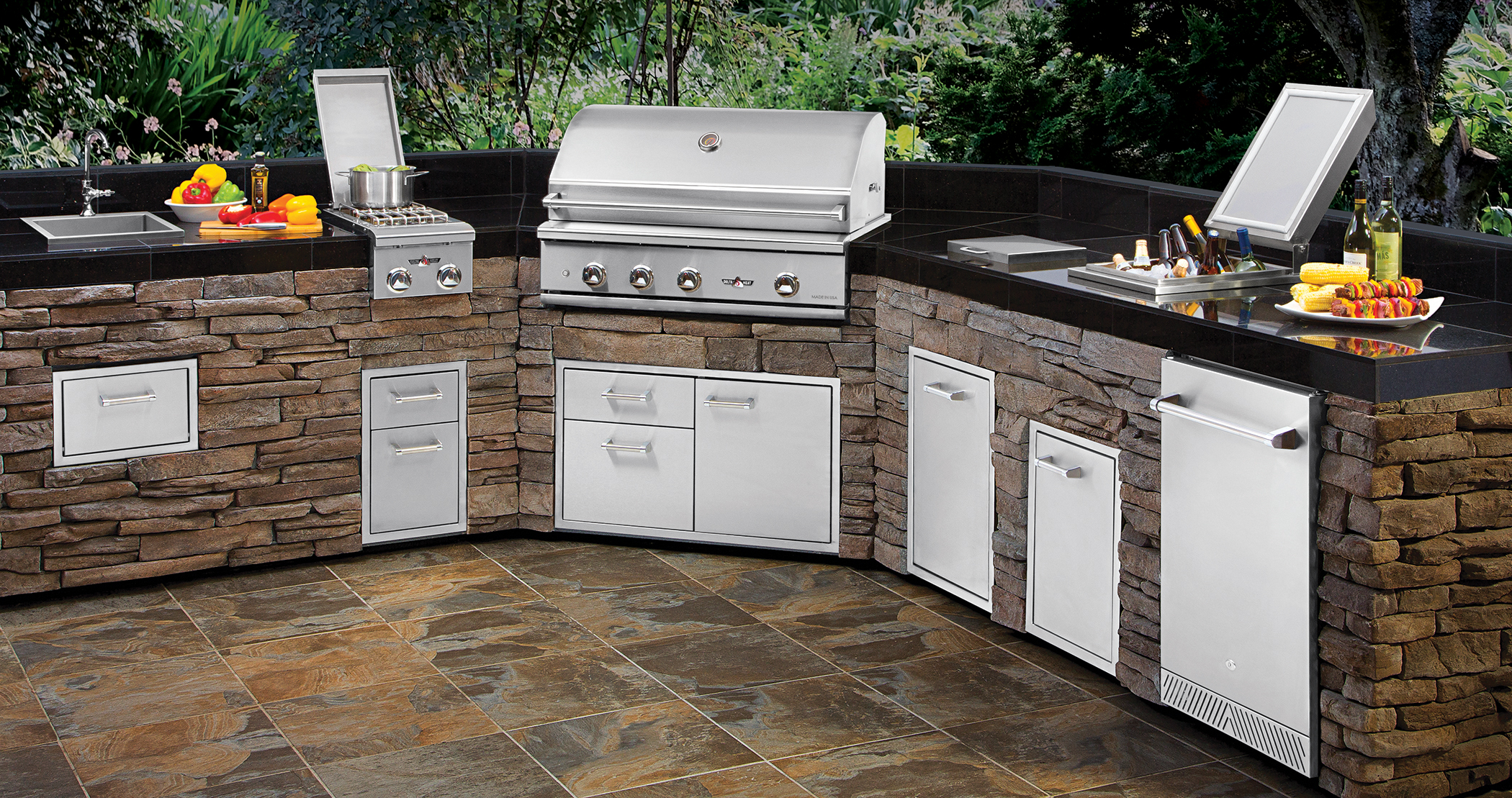 Delta Heat Outdoor Kitchen Components