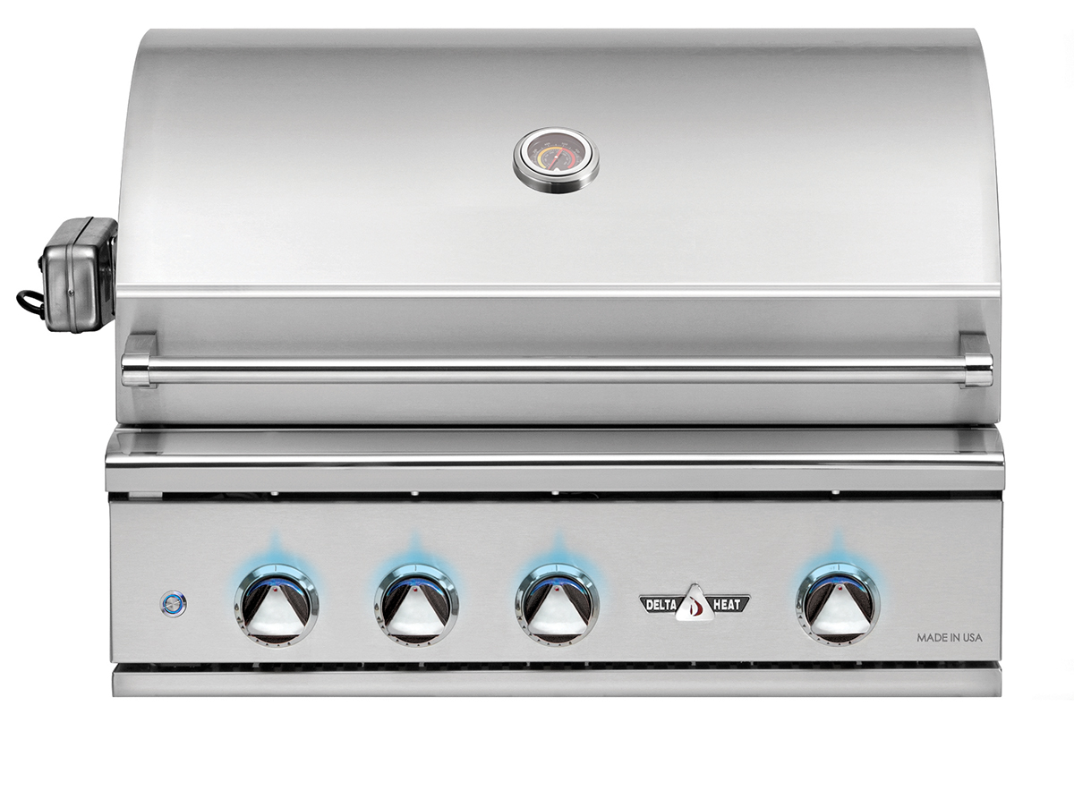 "Delta Heat 32"" Grill with Rotisserie"