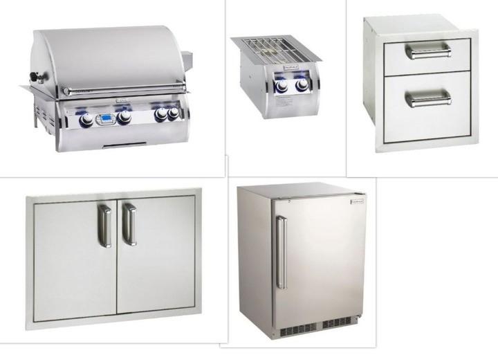 Fire Magic Echelon 660 Outdoor Appliance Package
