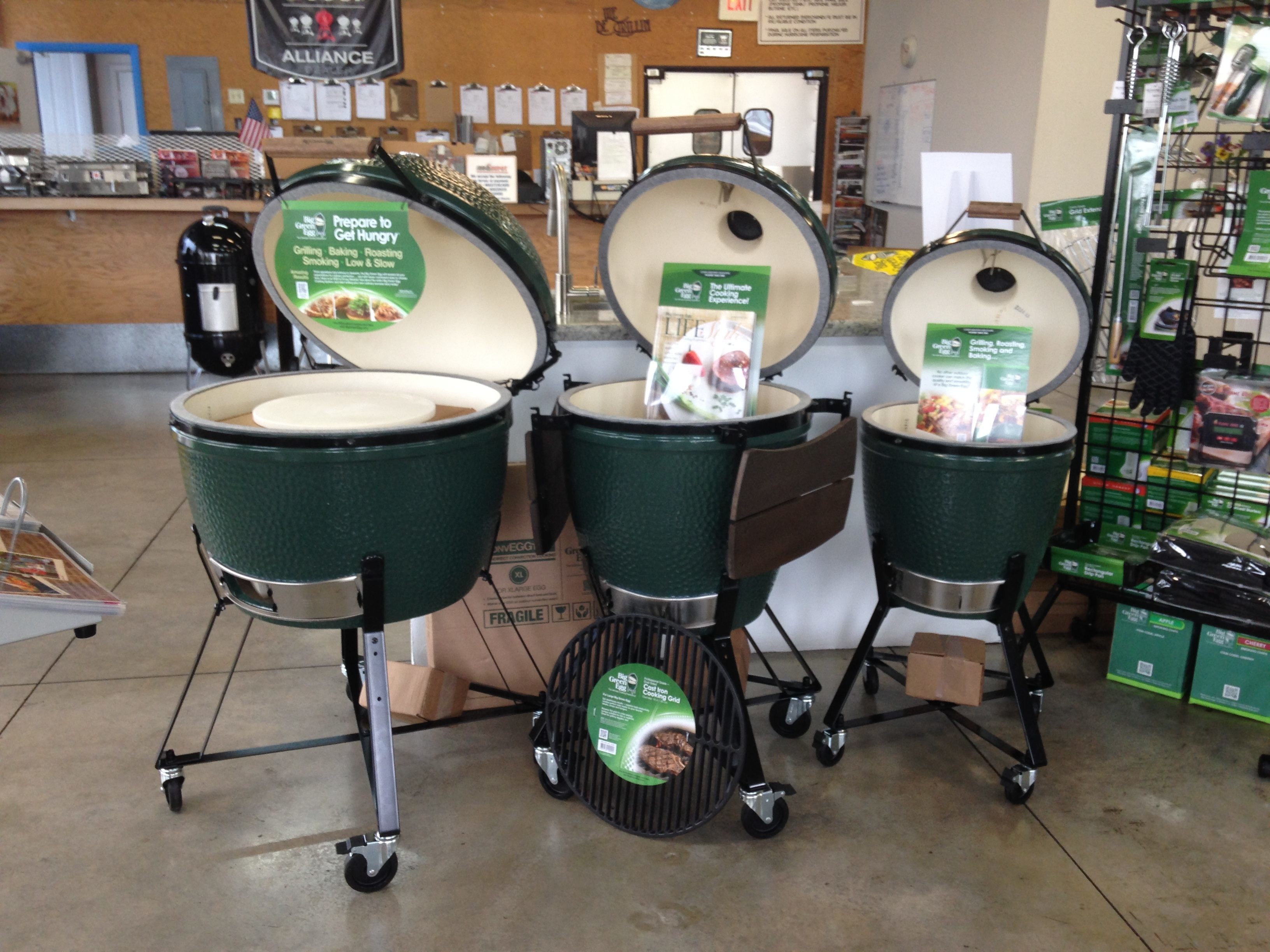 Its Official We Are A Big Green Egg Dealer Bbq Depot