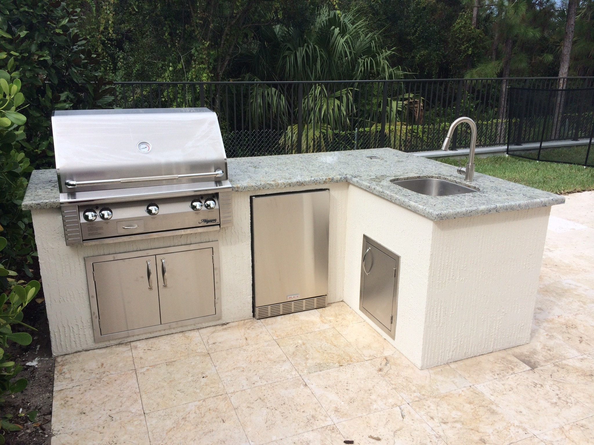 Custom Outdoor Kitchen Toll Brothers Bbq Depot