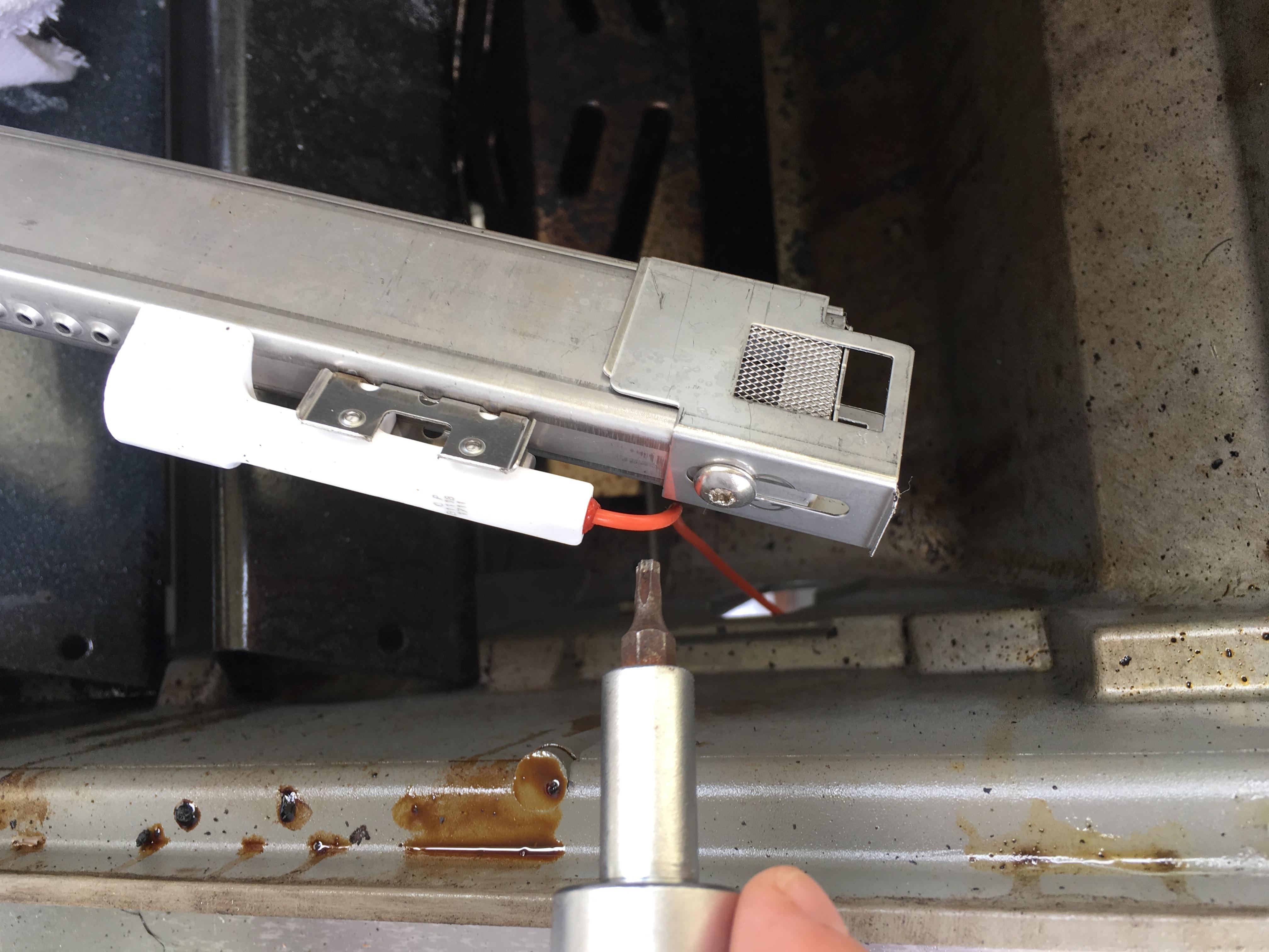 Weber Gas Grill Burner Air Adjustment