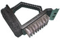 2-way Grill Brush With Scrubber with Stainless Steel and Scraper