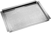 17-in X 13-in, Stainless Steel Grill Topper