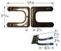 Broil-Mate, Sterling/Shepherd Stainless Steel Burner Venturi Kit