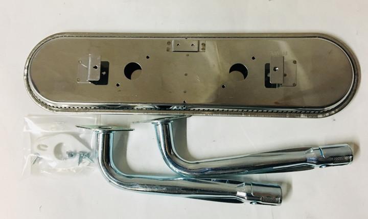 Stainless oval burner and venturi kit