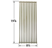 Stainless Dynasty Cooking Grate with Dimensions