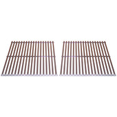 Stainless cooking grids