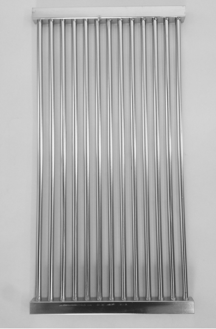 Stainless wire cooking grate
