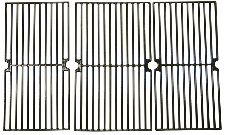 Cast iron cooking grates
