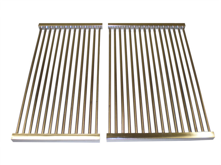 Stainless tube cooking grids