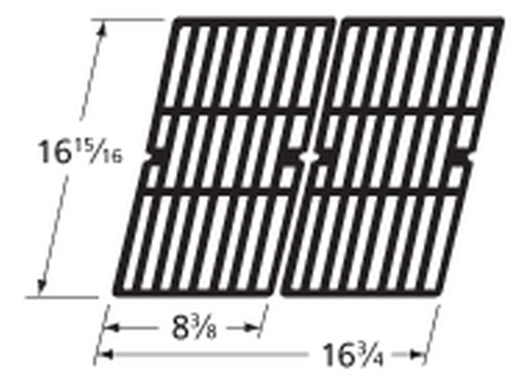 Charbroil Cast Iron Cooking Grates