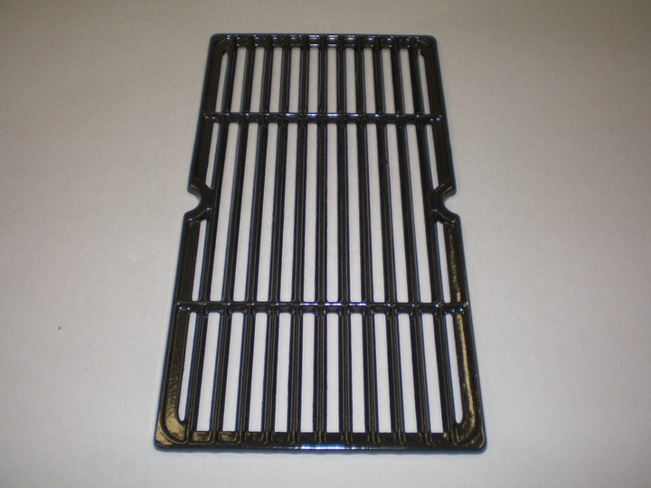 Gloss finish cast iron cooking grids