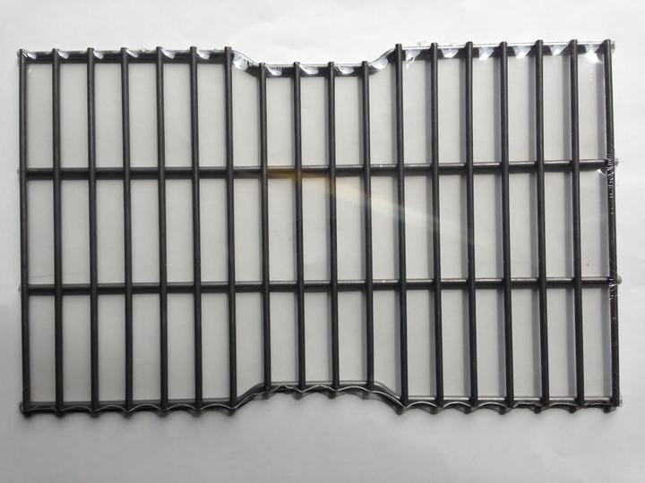 Steel wire rock grate