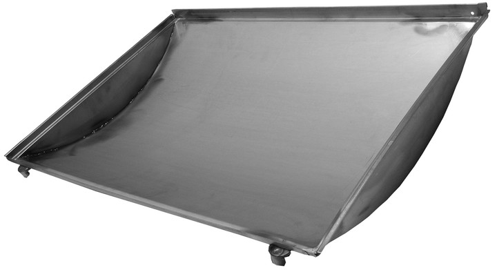 Stainless bottom tray