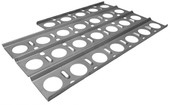 Stainless briquette tray