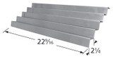 Weber stainless flavorizer bars with dimensions