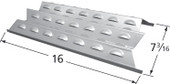 Perfect Flame Stainless Heat Shield with Dimensions
