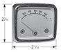 Heat indicator dimensions