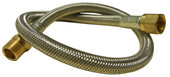 Stainless 24-in LP Hose