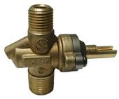 FireMagic brass valve