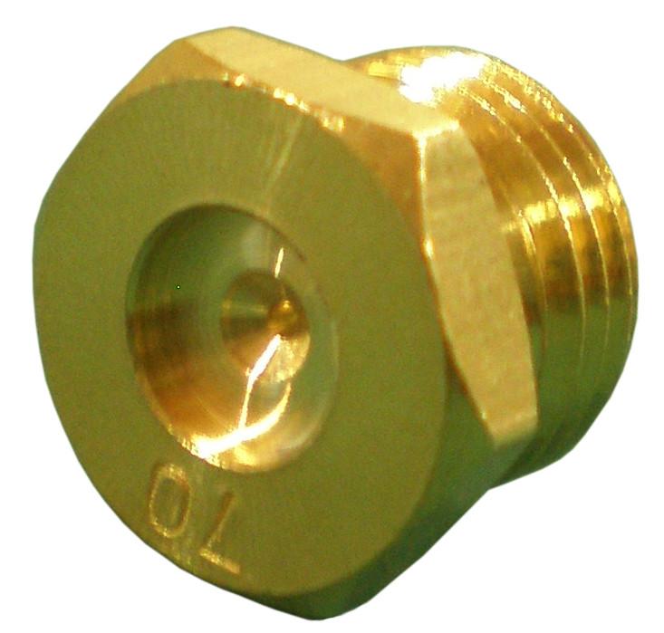 33200 Brass Spud Orifice 70 Drill Blank Starter Hole