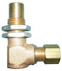 Brass Elbow Valve for up-front control grills