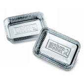 """Weber Small Foil Drip Pans 6"""" x 8 1/2"""" - 10 Pack - 6415"""