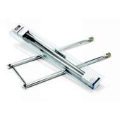 7507 Weber Stainless Steel Burner Kit, Silver A, 500