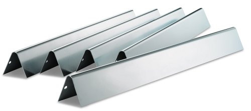 for Weber 9201 Hongso PPI201 Porcelain Steel Replacement Flavorizer Bar for Weber Gas Go-Anywhere Grill Aftermarket Replacements 14 11//16 Long