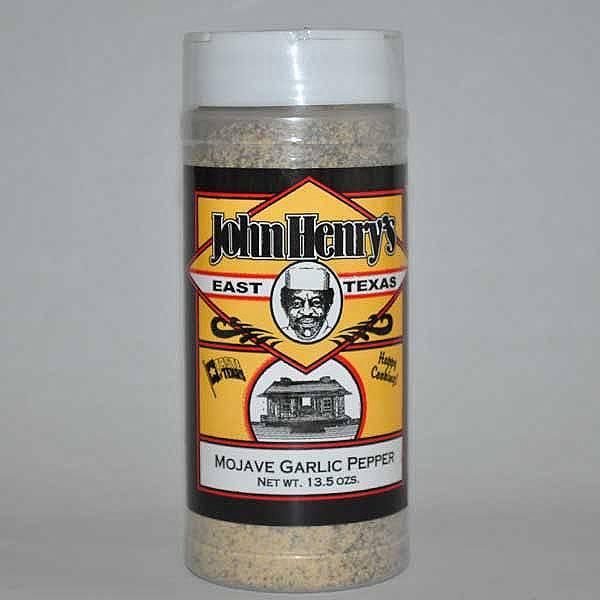 John Henry's Mojave Garlic Pepper Rub